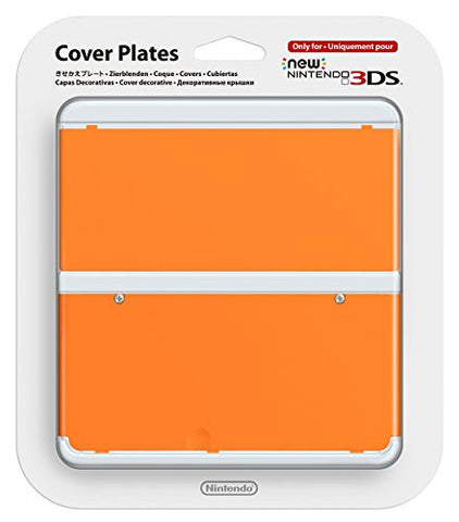 Image for New Nintendo 3DS Cover Plates No.033 (Orange)