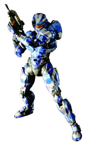 Image 1 for Halo 4 - Spartan IV - Play Arts Kai - Blue (Square Enix)