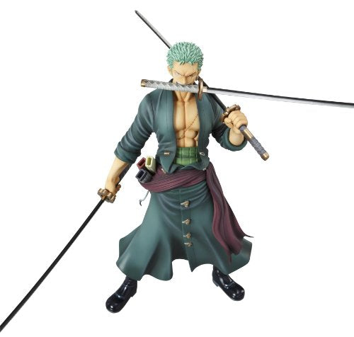 "Image 9 for One Piece - Roronoa Zoro - Excellent Model - Portrait Of Pirates ""Sailing Again"" - 1/8 - Timeskip ver. (MegaHouse)"