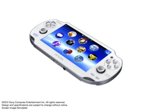 Image 6 for PSVita PlayStation Vita - Wi-Fi Model [Crystal White]