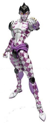 Image 1 for Jojo no Kimyou na Bouken - Vento Aureo - Purple Haze - Super Action Statue #47 (Medicos Entertainment)