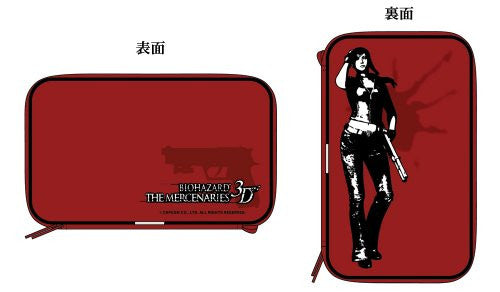 BioHazard: The Mercenaries 3D Semi Hard Pouch (Red)