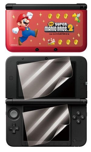 Image 2 for Chara Pure Seal New Mario 2 for 3DS LL (Type C)