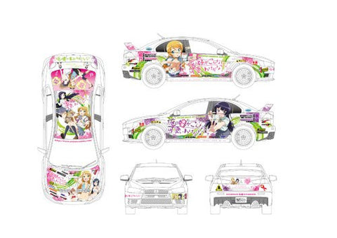 Image for Ore no Imouto ga Konna ni Kawaii Wake ga Nai - Itasha - Lancer Evolution X - 1/24 - ver. 2 (Aoshima)