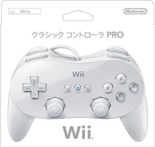 Wii Classic Controller Pro (White)