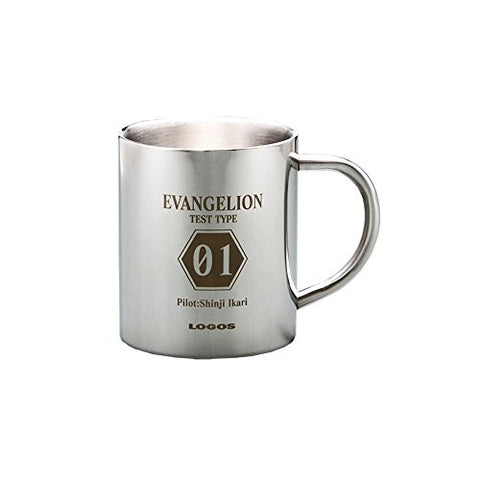 Image for Evangelion Shin Gekijouban - Ikari Shinji - Mug - Eva x Logos (Eichi Co., Ltd)