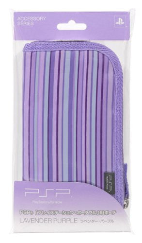 Image 1 for New Style PSP Pouch (Lavender Purple)