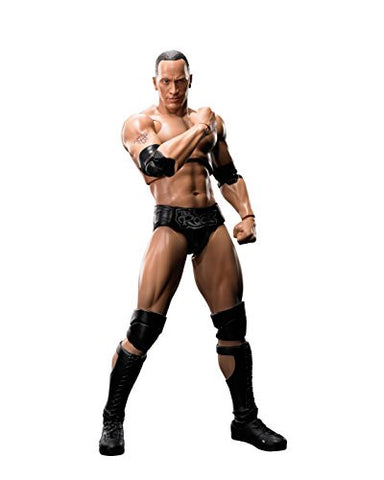 Image for WWE - The Rock - S.H.Figuarts (Bandai)