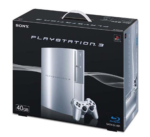 Image 2 for PlayStation3 Console (HDD 40GB Model) Satin Silver - 110V