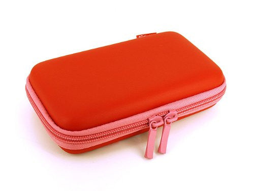Image 3 for Palette Semi Hard Pouch for 3DS (Carmine Red)