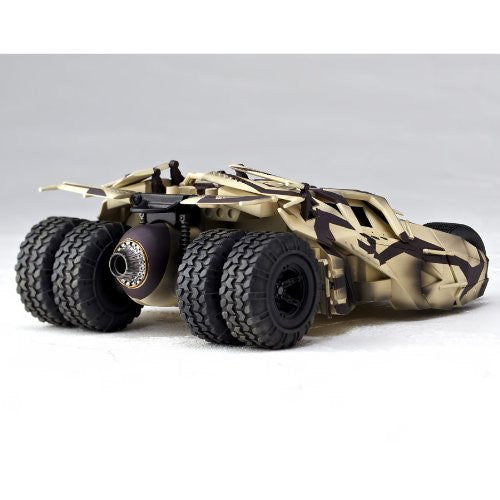 Image 4 for Batman Begins - The Dark Knight - The Dark Knight Rises - Batmobile Tumbler - Revoltech - Revoltech SFX 043EX - Camouflage (Kaiyodo)