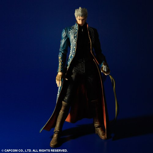 Image 3 for Devil May Cry 3 - Vergil Sparda - Play Arts Kai (Square Enix)