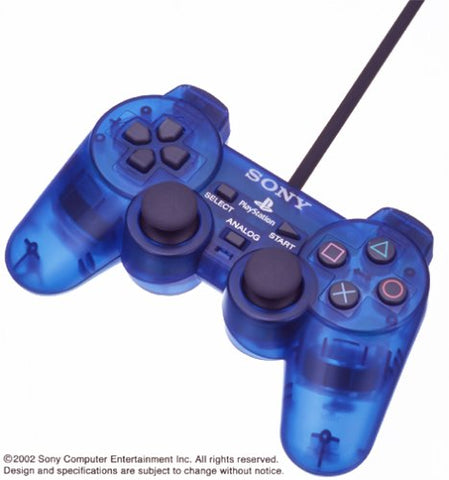 Playstation 2 Analog Controller Ocean Blue (Dualshock2)