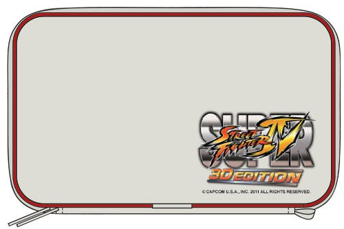 Image 2 for Super Street Fighter IV 3D Edition Pouch 3DS (White)