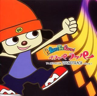 Image 1 for Parappa the Rapper TV Animation Soundtrack Vol.1