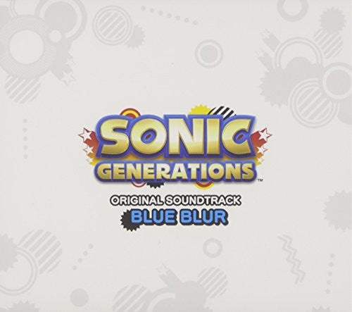 Image 1 for SONIC GENERATIONS ORIGINAL SOUNDTRACK BLUE BLUR