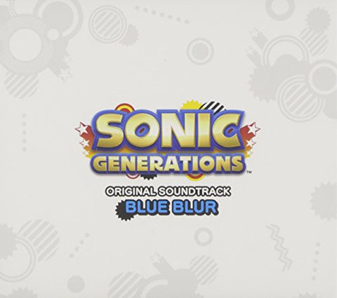 Image for SONIC GENERATIONS ORIGINAL SOUNDTRACK BLUE BLUR