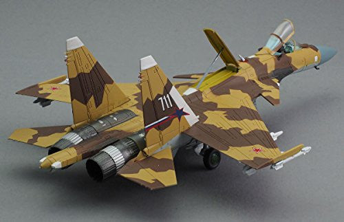 "Image 5 for GiMIX Aircraft Series - AC601 - Russian Air Force Su-37 - 1/144 - Flanker E2  ""711"" (Tomytec)"