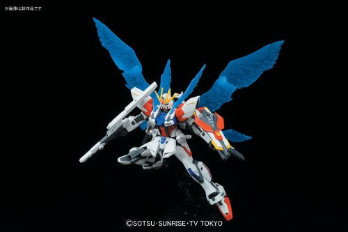 Image 3 for Gundam Build Fighters - GAT-X105B/ST Star Build Strike Gundam - HGBF #009 - 1/144 - Plavsky Wing (Bandai)