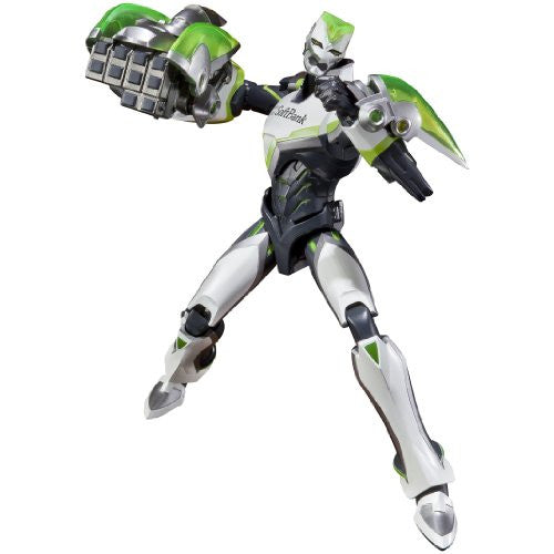 Image 3 for Tiger & Bunny - Wild Tiger - S.H.Figuarts (Bandai)