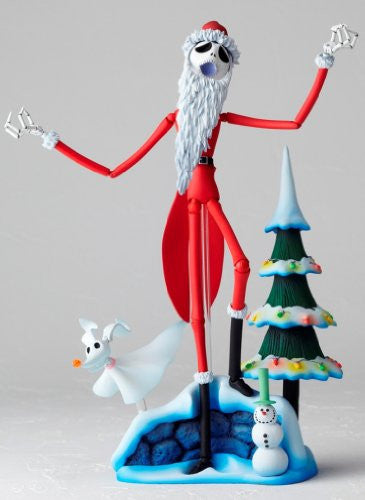 Image 2 for The Nightmare Before Christmas - Jack Skellington - Zero - Revoltech - Revoltech SFX #017 - Santa Ver. (Kaiyodo)