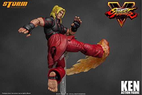 Image 9 for Street Fighter V - Ken Masters - 1/12 (Storm Collectibles)