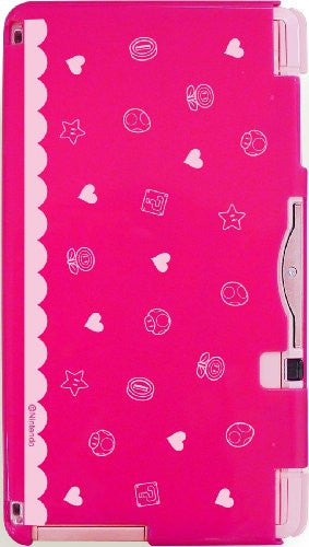 Image 3 for Body Cover 3DS Type E (Super Mario & Peach - Pink)