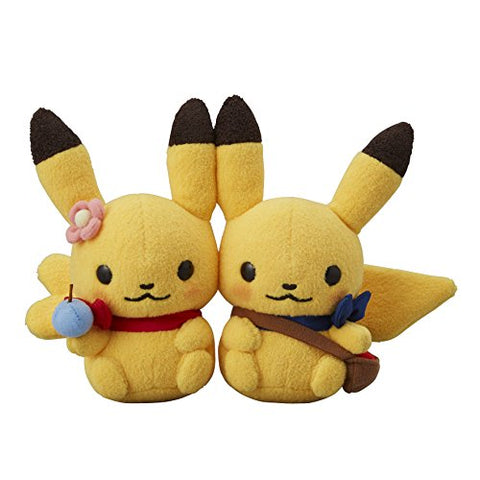 Pocket Monsters - Pokemon Little Tales - Pokemon Center Limited - Pikachu Plushies