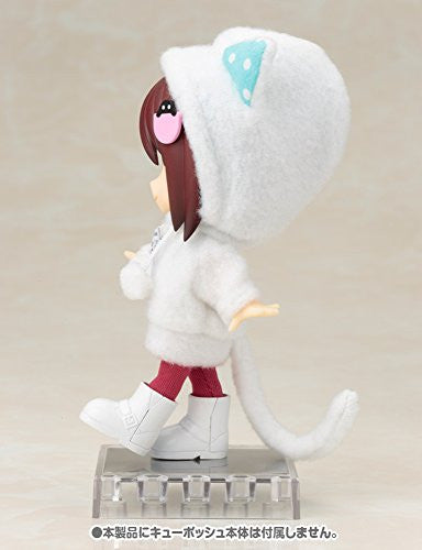 Image 3 for Cu-Poche - Cu-Poche Extra - Animal Parka Set - White Cat (Kotobukiya, Noix de Rome)