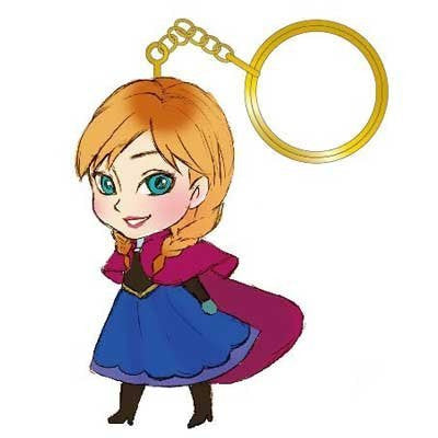 Image 1 for Frozen - Anna - Keyholder (Run'a)
