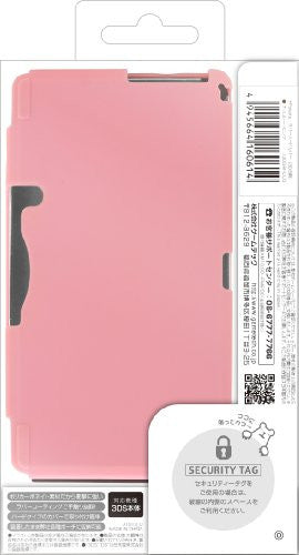 Image 2 for Palette Rubber Hardcover for 3DS (Chocolate Pink)