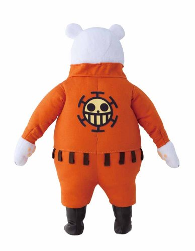 Image 3 for One Piece - Bepo - Portrait Of Pirates DX - Stuffed Collection - 1/8 (MegaHouse)