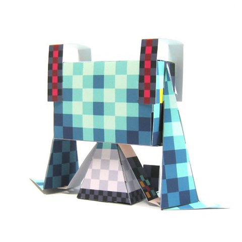 Image for Vocaloid - Hatsune Miku - GraPhig #126 - Checkered ver. (Cospa)
