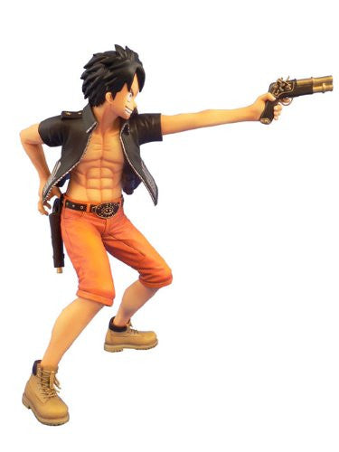 Image 3 for One Piece - Monkey D. Luffy - Door Painting Collection Figure - 1/7 - The Three Musketeers Ver. (Plex)