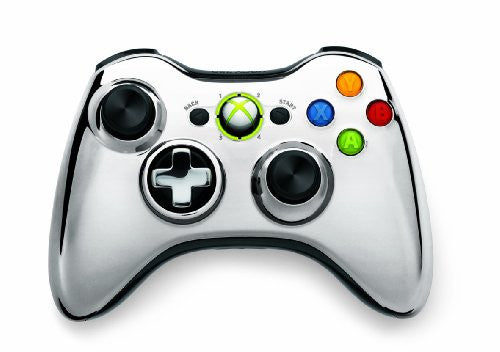 Image 1 for Xbox 360 Wireless Controller SE (Chrome Silver)