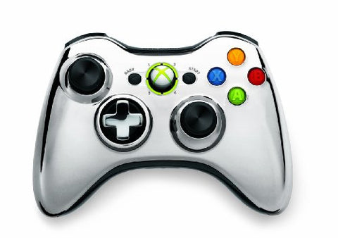 Image for Xbox 360 Wireless Controller SE (Chrome Silver)