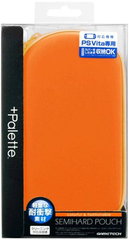 Image for +Palette Semi Hard Pouch for PS Vita (Sunset Orange)