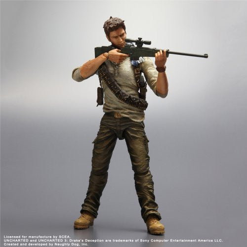Image 2 for Uncharted 3 - Nathan Drake - Play Arts Kai (Square Enix)