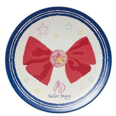 Image 1 for Bishoujo Senshi Sailor Moon - Melamine Plate - Sailor Senshi set pattern (Hasepro)