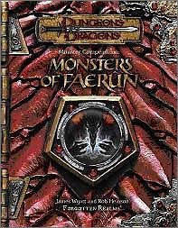 Dungeons & Dragons Supplements Faerun No Monster Game Book / Rpg
