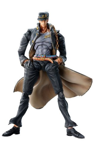 Image 1 for Jojo no Kimyou na Bouken - Stardust Crusaders - Kuujou Joutarou - Super Action Statue #37 - Ver. 1.5 (Medicos Entertainment)