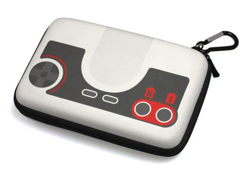 Image 2 for Retro Face Pouch for 3DS LL (PC Engine White)