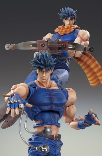 Image 4 for Jojo no Kimyou na Bouken - Sentou Chouryuu - Joseph Joestar - Super Action Statue (Medicos Entertainment)