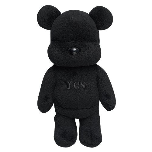 Image 1 for Otayori Be@rbrick - Yes - Black (Medicom Toy)