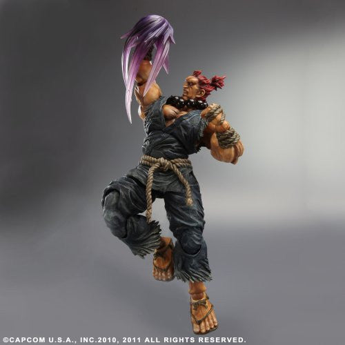 Image 4 for Super Street Fighter IV - Gouki - Play Arts Kai (Square Enix)