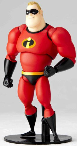 Image 2 for The Incredibles - Mr. Incredible - Revoltech - Revoltech Pixar Figure Collection - 4 (Kaiyodo Pixar The Walt Disney Company)