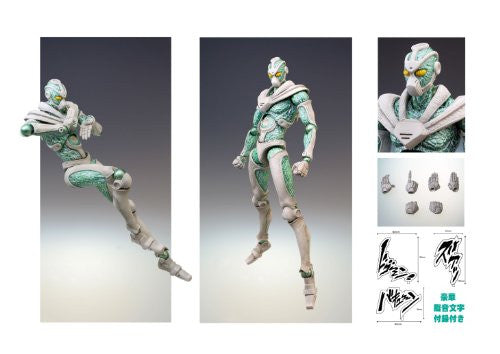Image 3 for Jojo no Kimyou na Bouken - Stardust Crusaders - Hierophant Green - Super Action Statue #5 (Medicos Entertainment)