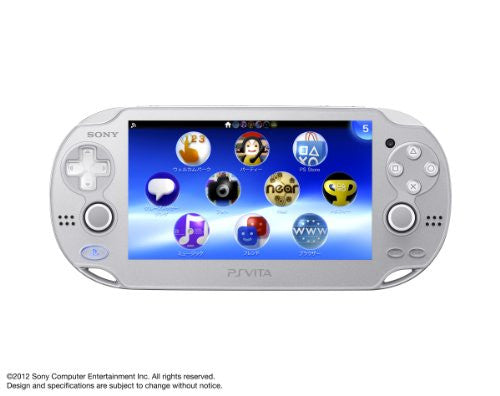 Image 1 for PSVita PlayStation Vita - Wi-Fi Model (Ice Silver)