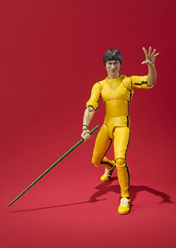 Image 2 for Game of Death - Bruce Lee - S.H.Figuarts - Yellow Track Suit (Bandai)