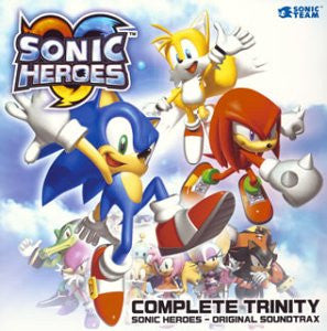Image 1 for COMPLETE TRINITY: SONIC HEROES - ORIGINAL SOUNDTRAX
